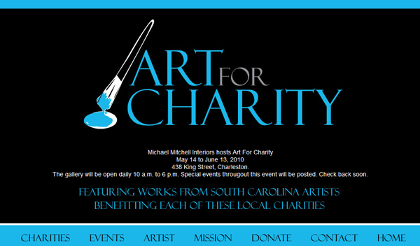 Check out the Art for Charity site!