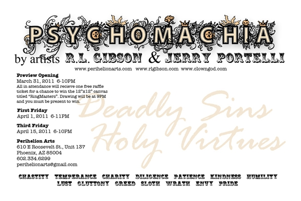 Click to learn more about the Psychomachia show!