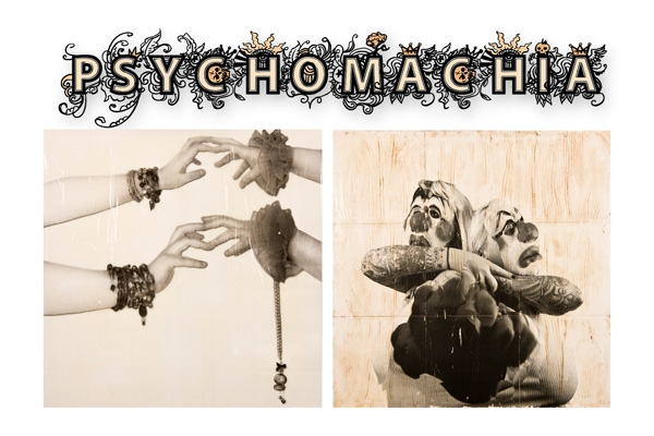 Click to learn more about Psychomachia from Artist R.L. Gibson and Photographer Jerry Portelli!