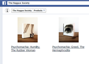 The work of Artist R.L. Gibson in now avilable via The Haggus Society FB store!