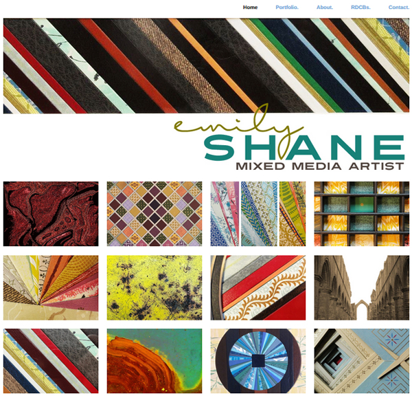 Take a look at the new website of Artist Emily Shane!