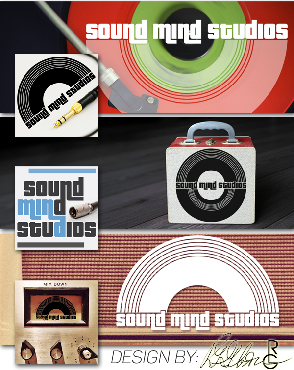 Sound Mind Studio - logo development & esigned by R.L. Gibson