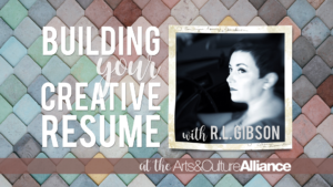 Building your Resume with R.L. Gibson
